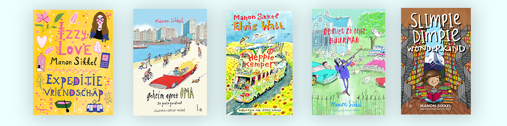- Lees alles over de leukste kinderboeken van Manon Sikkel!