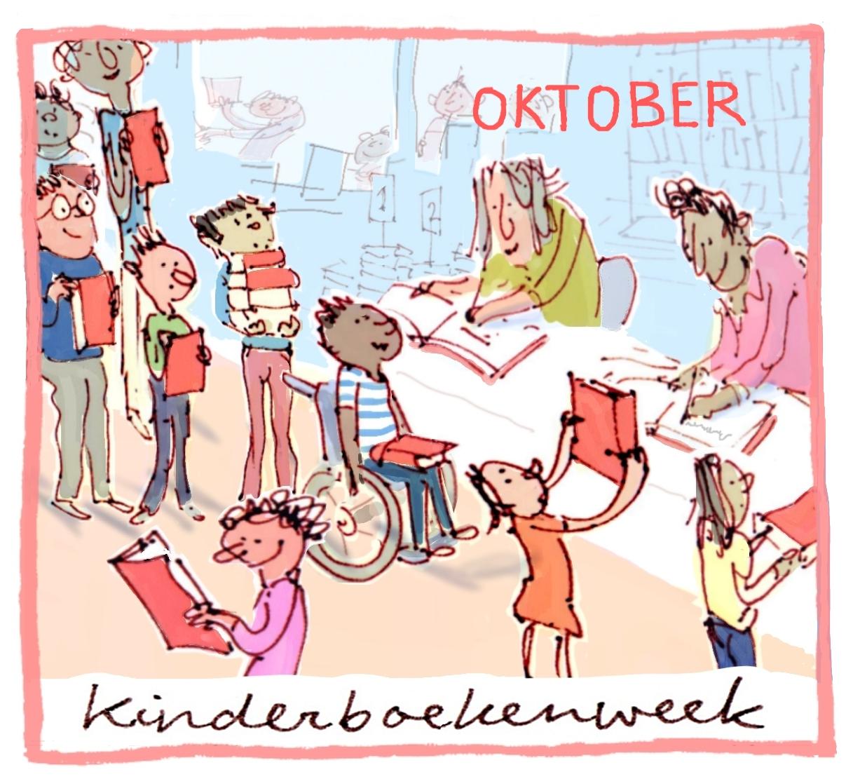 Het thema van oktober is: Kinderboekenweek!