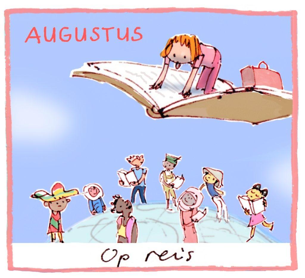 Het thema van augustus is: reizen!