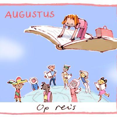 Leeskalender Augustus - op reis
