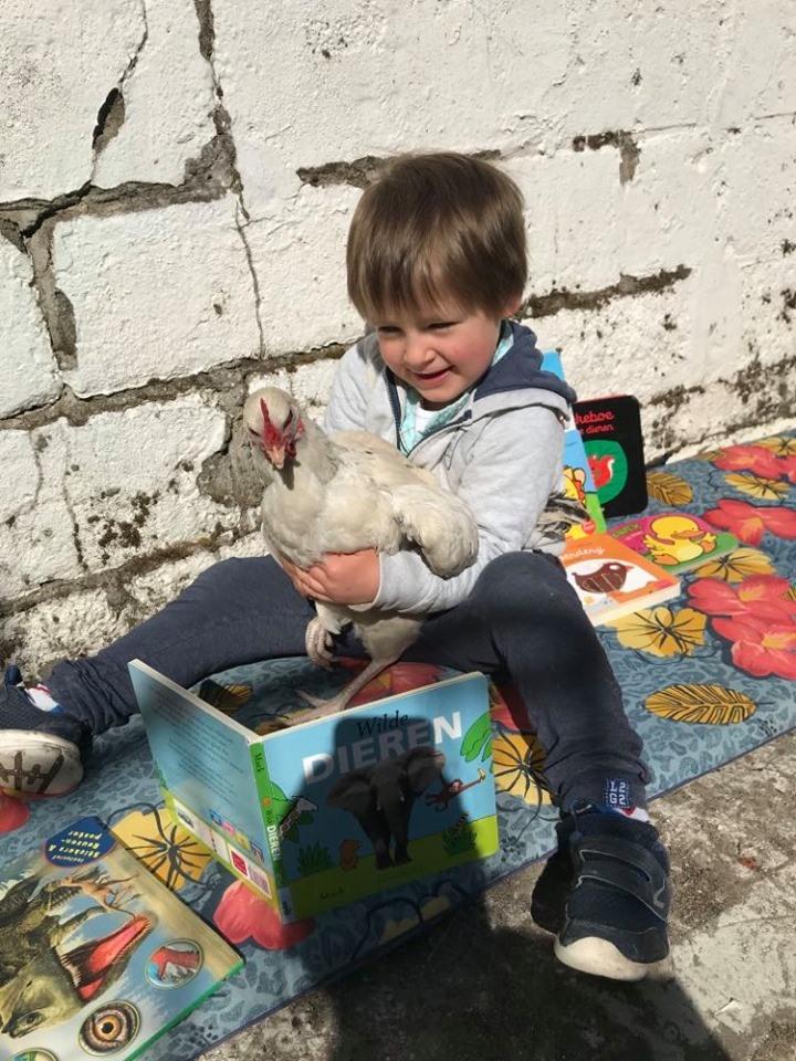 Ikleesthuischallenge week 17 - winnaar Finn via Facebook - leest 'Wilde dieren'